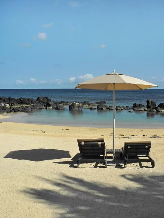 чадър за плаж