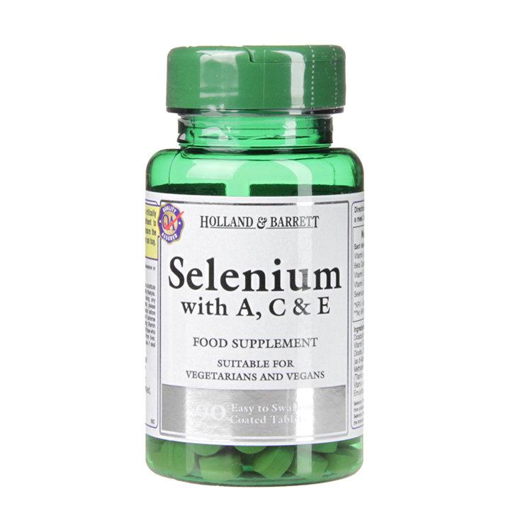 Селен с витамини А , С и Е